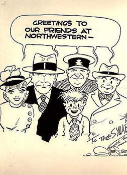 Gould's cartoons